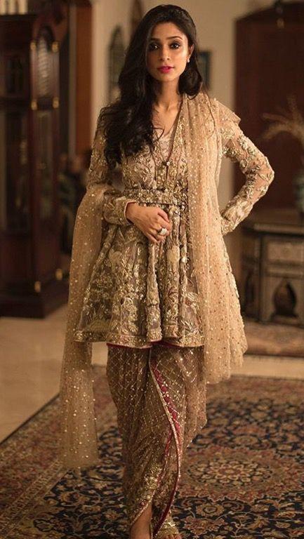 a8c3e3d96e5e5 Dhoti Style Suit.   Ethnic Wear : Suits   Pakistani frocks ...