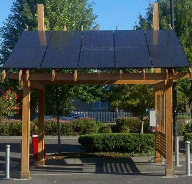 Outdoor Solar Ed Pergola Gazebos