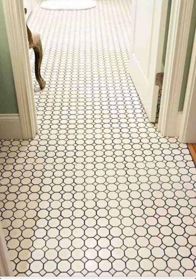 Feature Friday Edie S New Home Beauty From Ashes Southern Hospitality Octagon Tile Bathroom Floor Tiles Tile Bathroom