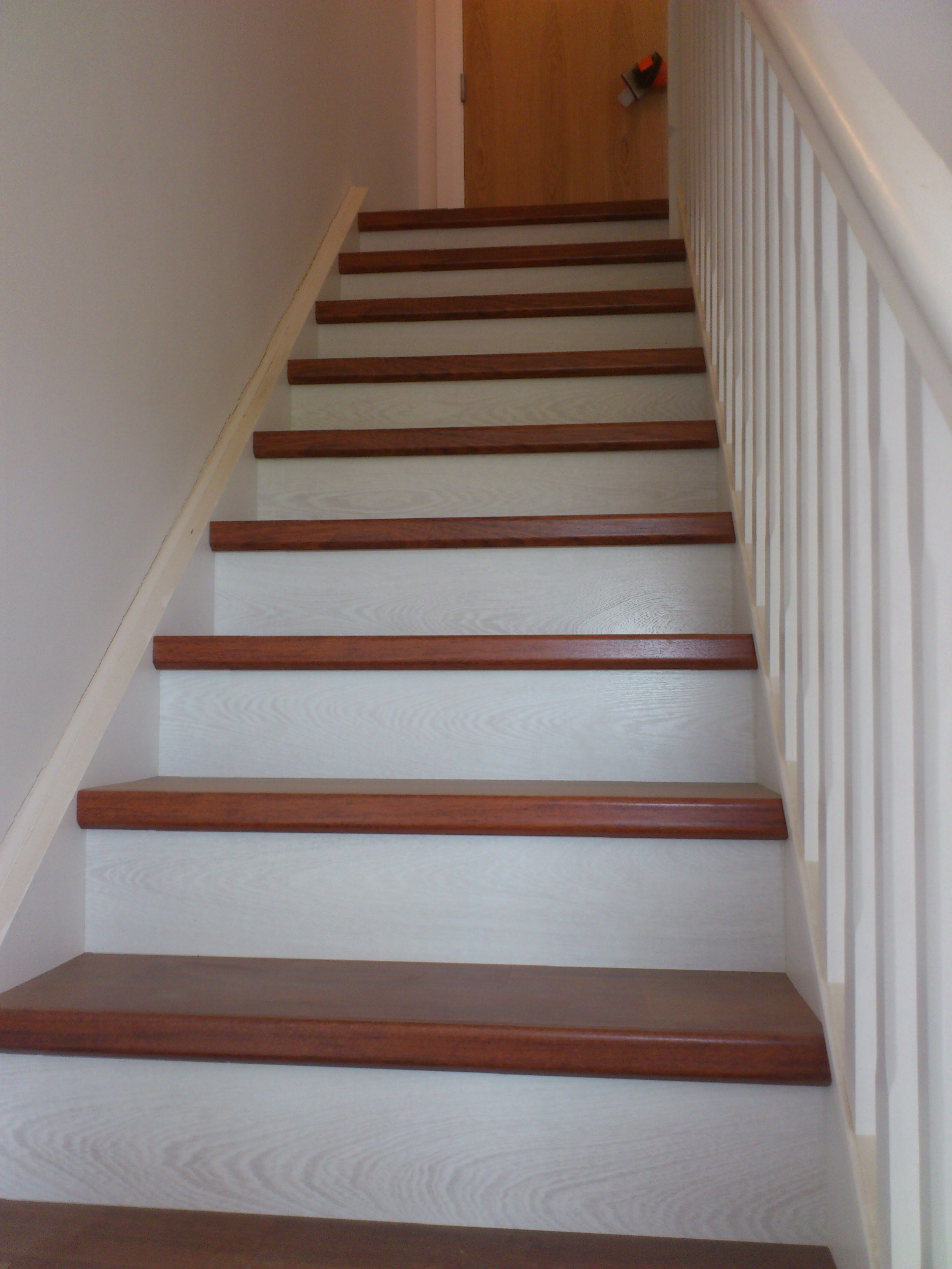 QuickStep stair renovation Laminate stairs, Quick step