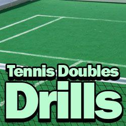 4 Best Tennis Doubles Drills Best Tennis Drills Tennis Doubles Tennis Tennis Drills