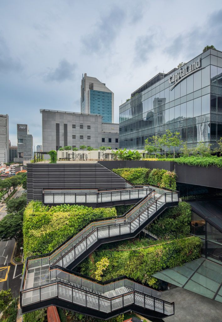 Destination Singapore Funan is the Mixed Use Complex of