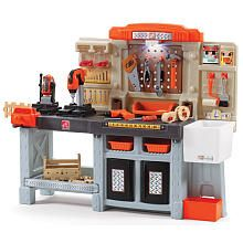 Excellent The Home Depot Big Builders Pro Workshop Kids Workbench Frankydiablos Diy Chair Ideas Frankydiabloscom