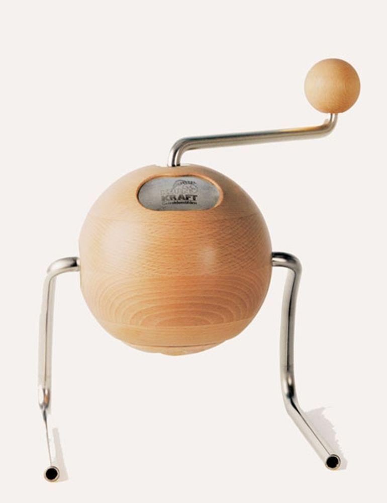 Kornkraft Getreidemühle TERRA LUNA Handgetreidemühle Handmühle Buchenholz NEU in Haushaltsgeräte, Kleingeräte Küche, Getreidemühlen & -flocker  