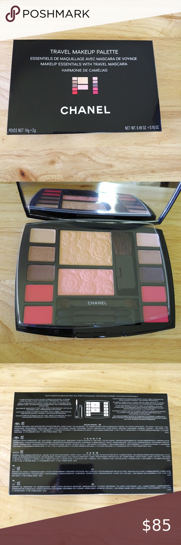 Chanel Travel Makeup Palette Brand New in Box in 2020