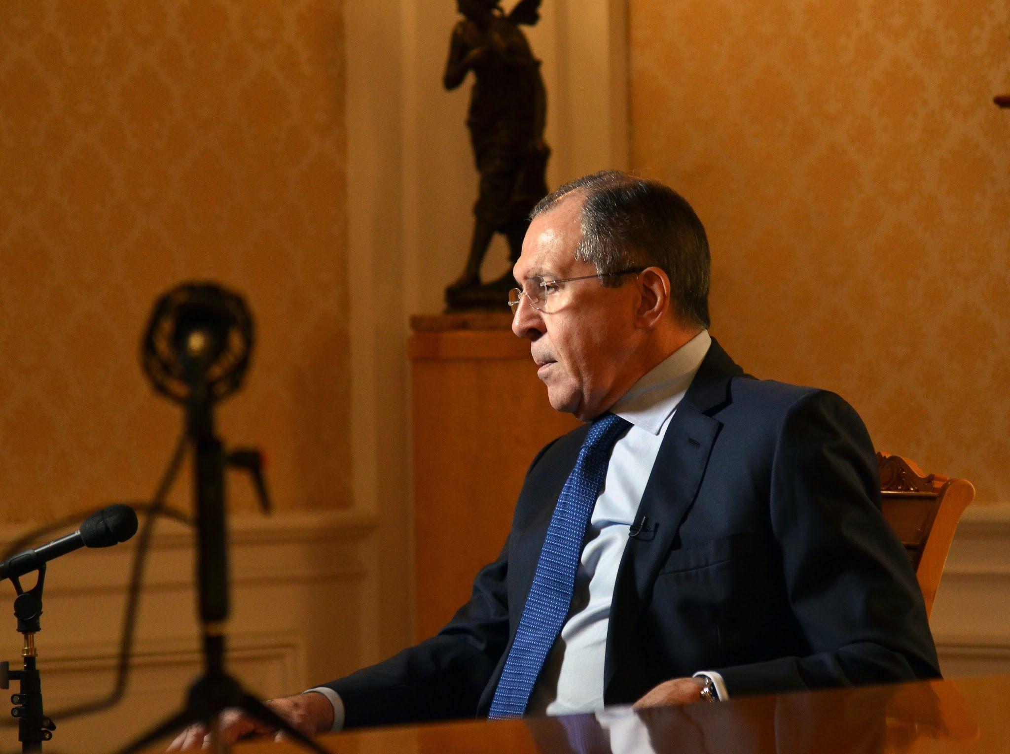 Сергей Лавров рассказал иностранным журналистам про отношения Россия - Запад