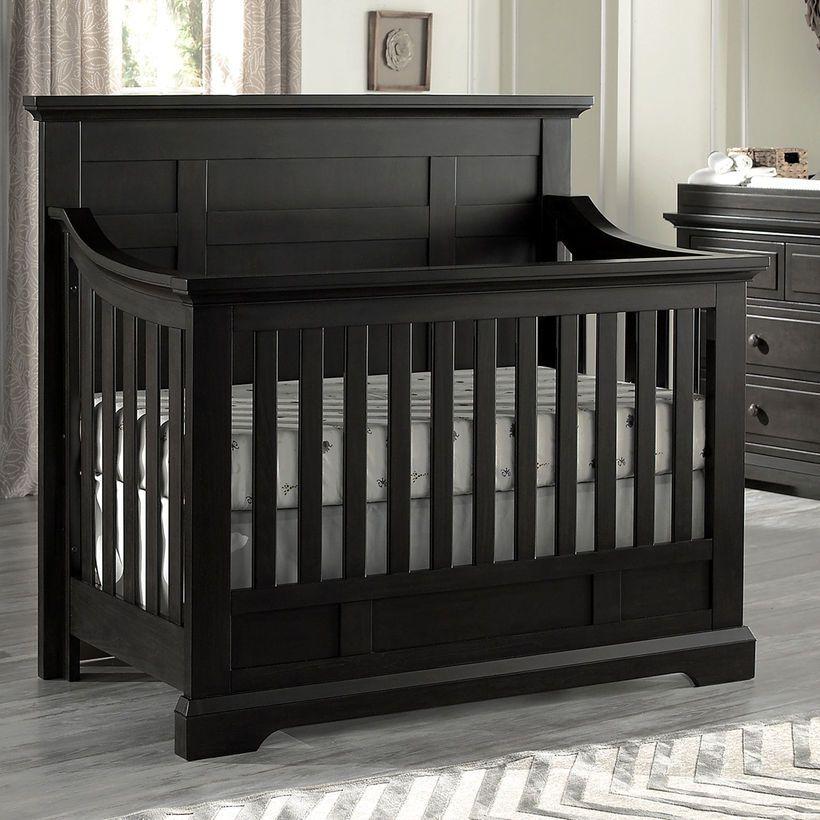 Oxford Baby Dallas 4 In 1 Convertible Crib Slate My