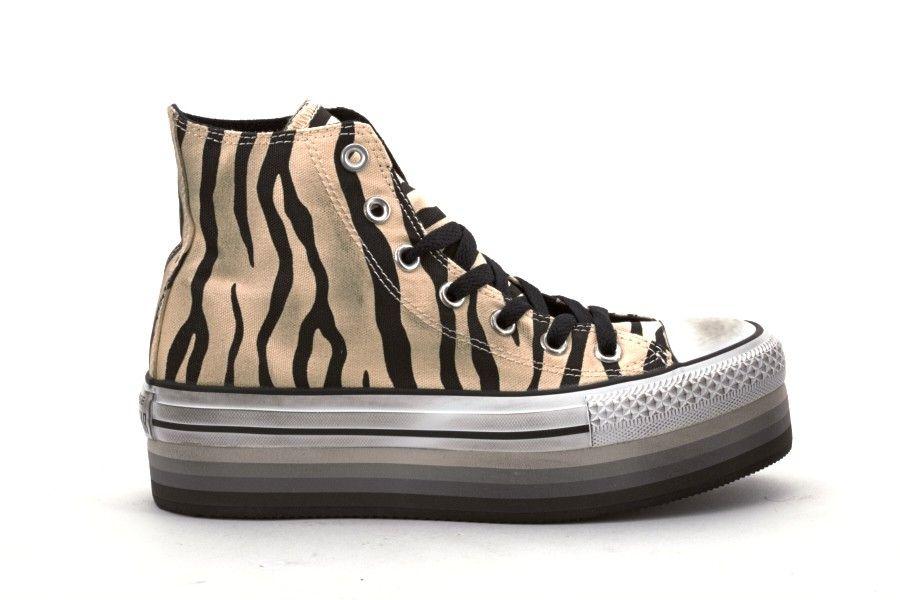 converse donna scarpe platform