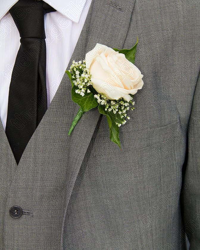 Image Of Grooms Buttonhole Flower