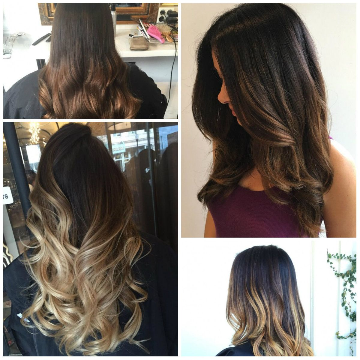 Modern Brown Ombre Hair Colors For 2017