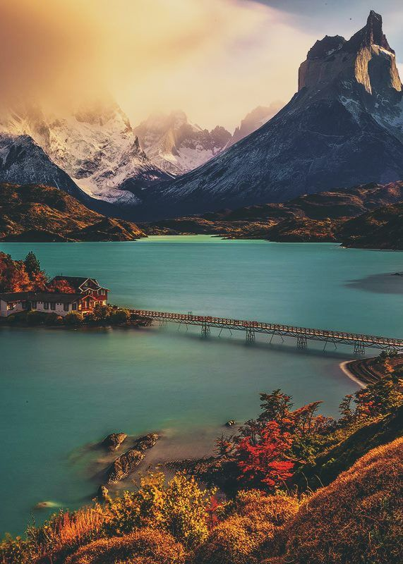 Torres Del Paine national park, Chile..!
