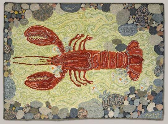 Melina White Hand Hooked Rugs petits projets Pinterest