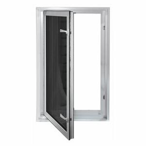 Wellcraft Egress System Insulated In Swing Window Egress Compliant Window Wells Egress Window White Windows Windows Exterior