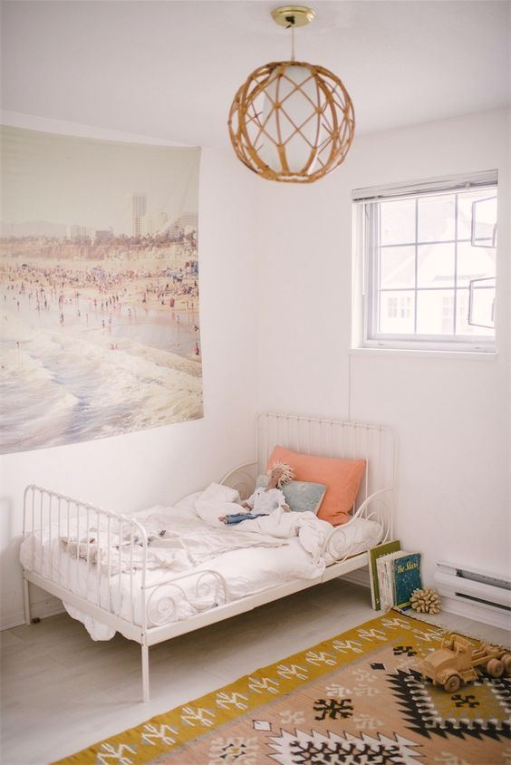 Ideas De Decoracion Con Materiales De Mimbre Y Rattan Kids Room - Decorar-habitacion-nios