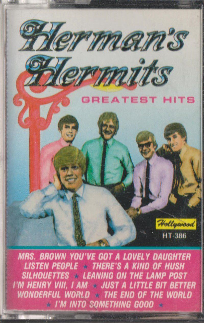 Herman S Hermits Greatest Hits Cassette Greatest Hits Cassette Music Cassette