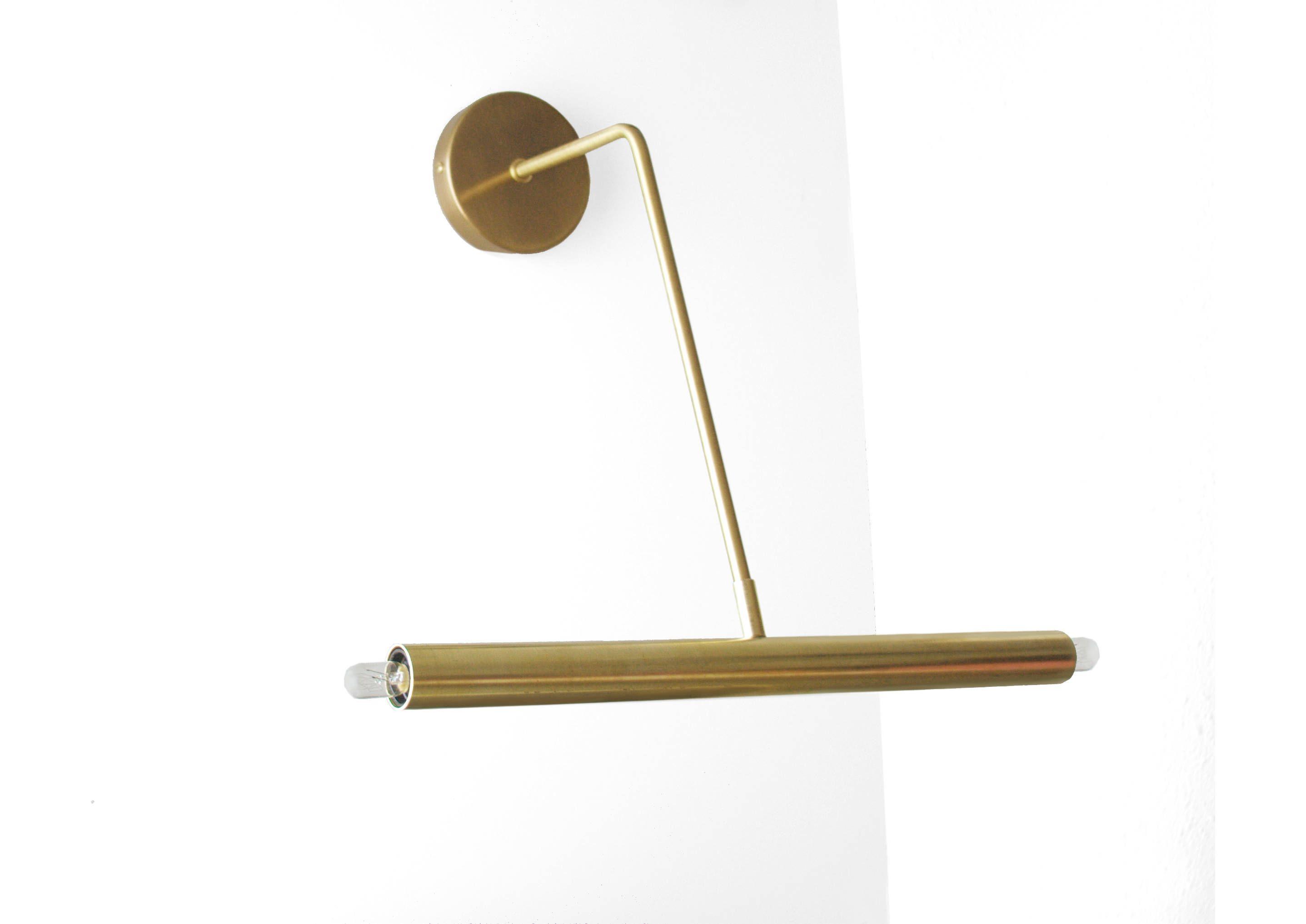 vanity bulb ponz modern light lamp lighting bathroom mid fixture century pin wall