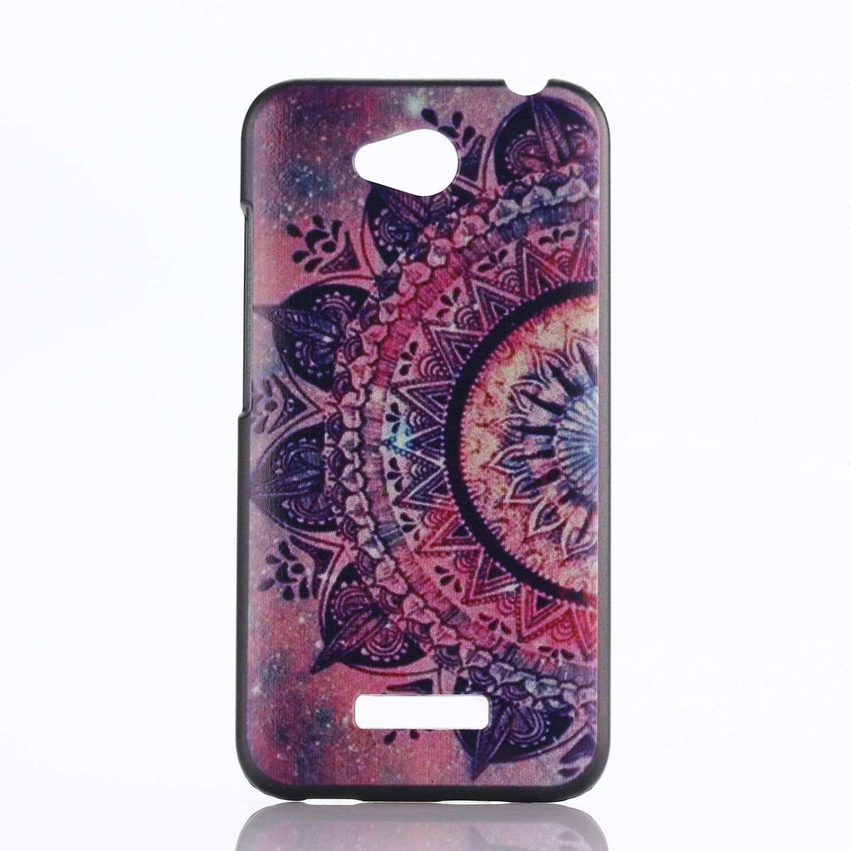 Anchor cartoon pattern plastic hard back case for htc