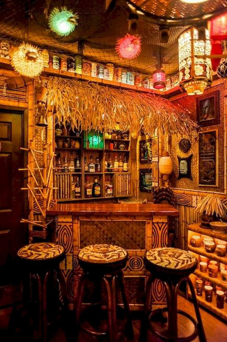 Tiki Bar Decorating Ideas.48 Quality Bar Decor Ideas Tiki Bar Decor Tiki Decor