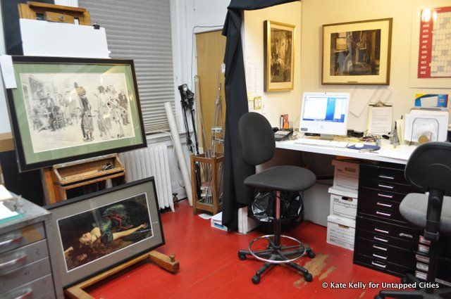 Behind the Scenes at the Society of Illustrators