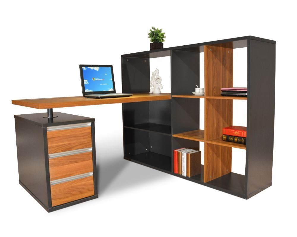 Adalyn workstation with display unit dunn furniture