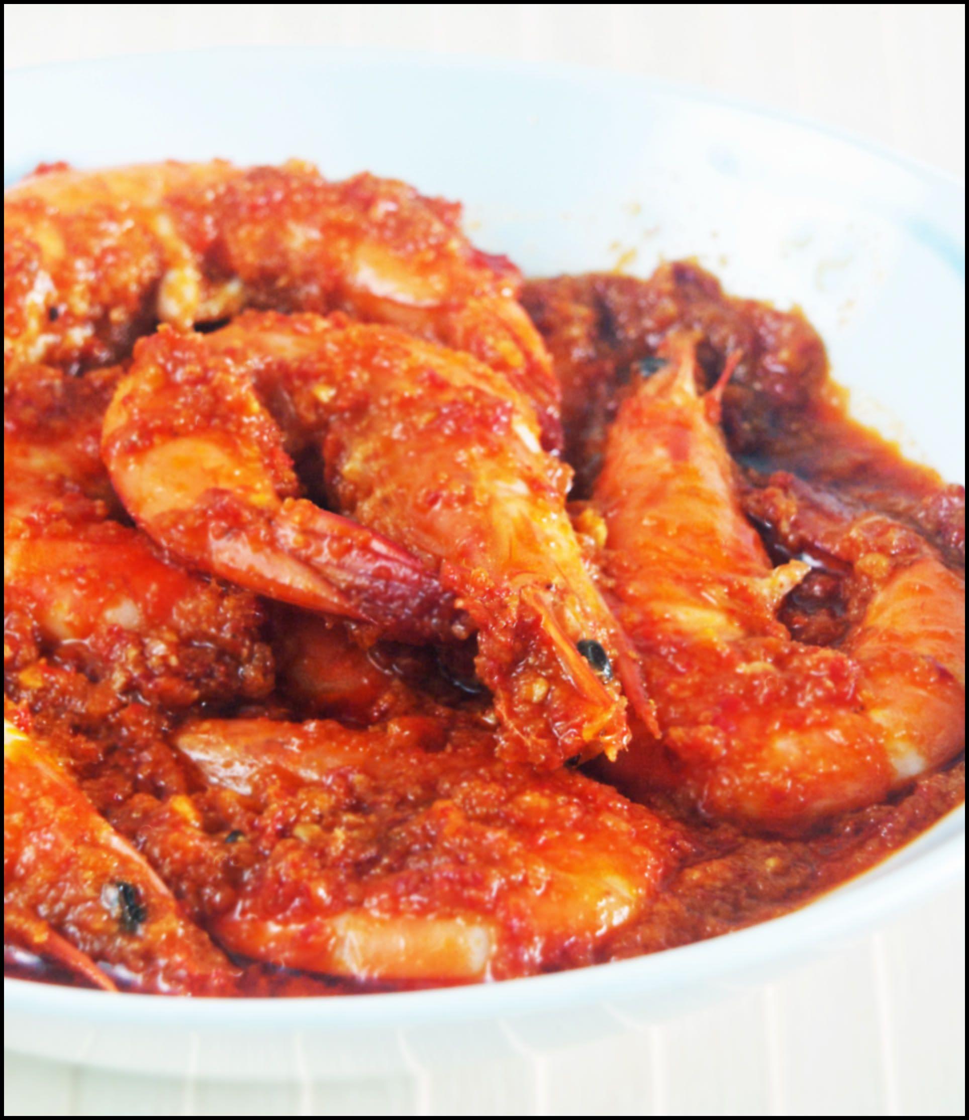 KitchenTigress: nyonya sambal udang