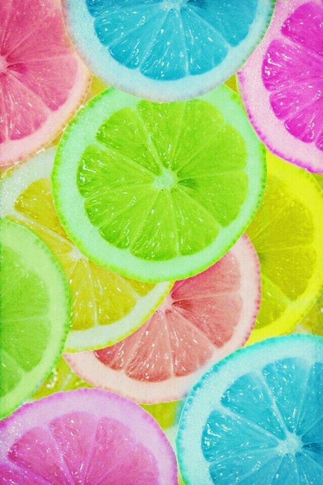 Iphone Wallpapers Summer Screensavers Smartphone Hintergrund Limones2