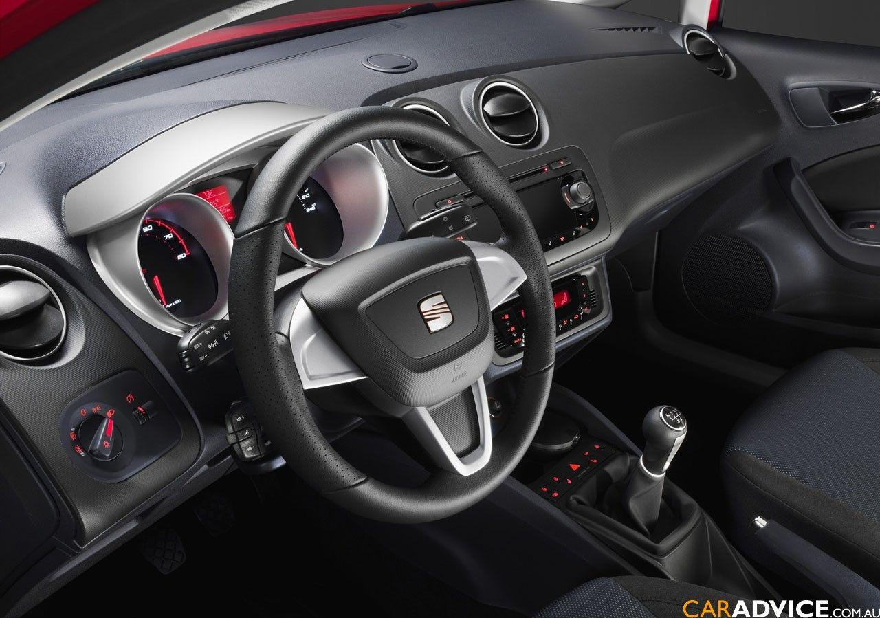 Interior del Seat IBIZA ST familiar  Seat Ibiza ST familiar