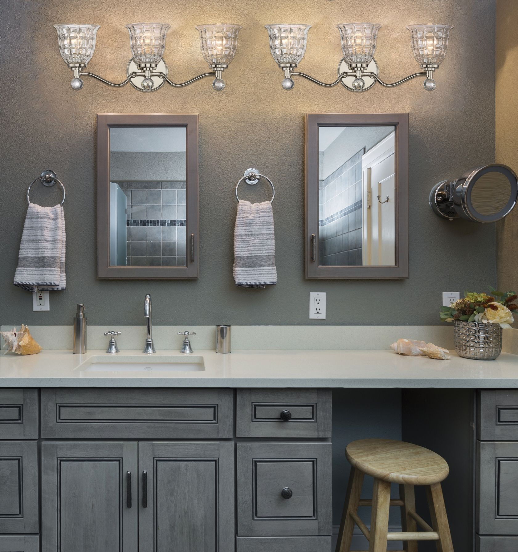 Savoy House Birone 3light bath bars Modern bathroom
