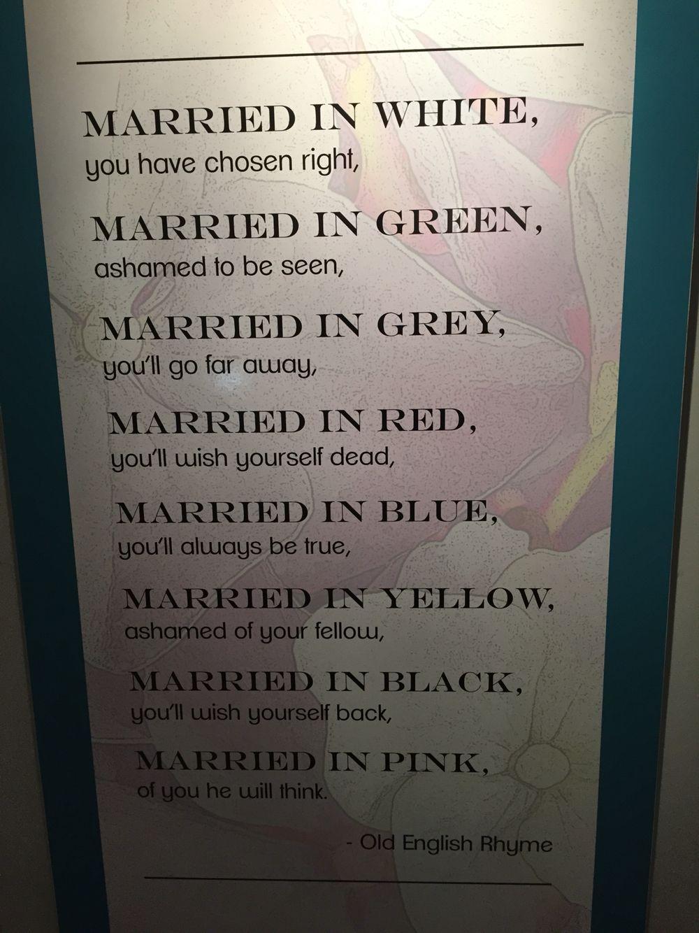 Good Wedding Advice