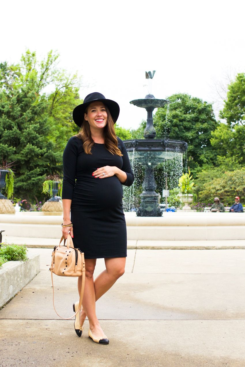 fall maternity style in Chicago
