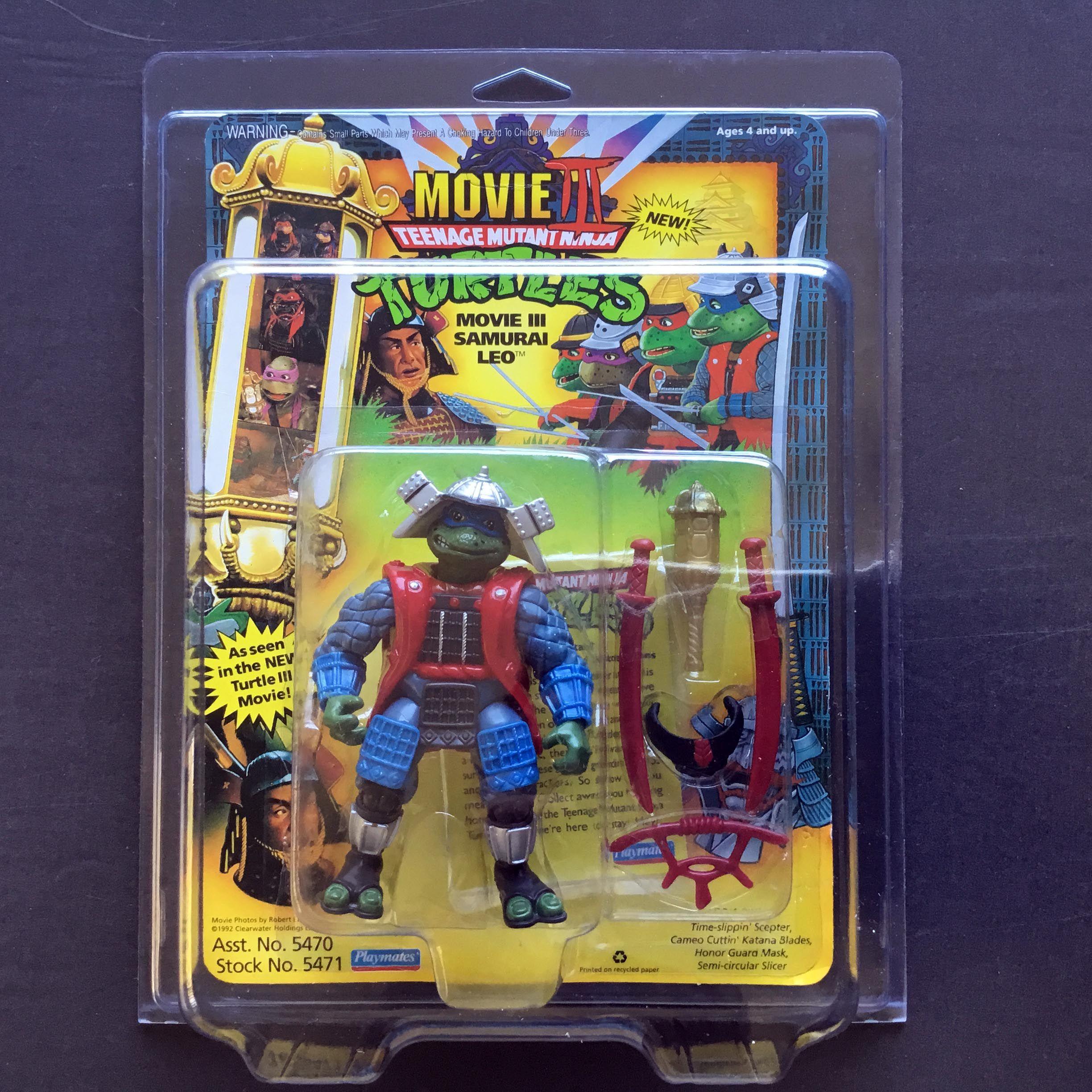 Movie Iii Samurai Leo Teenage Mutant Ninja Turtles Toy Tmnt