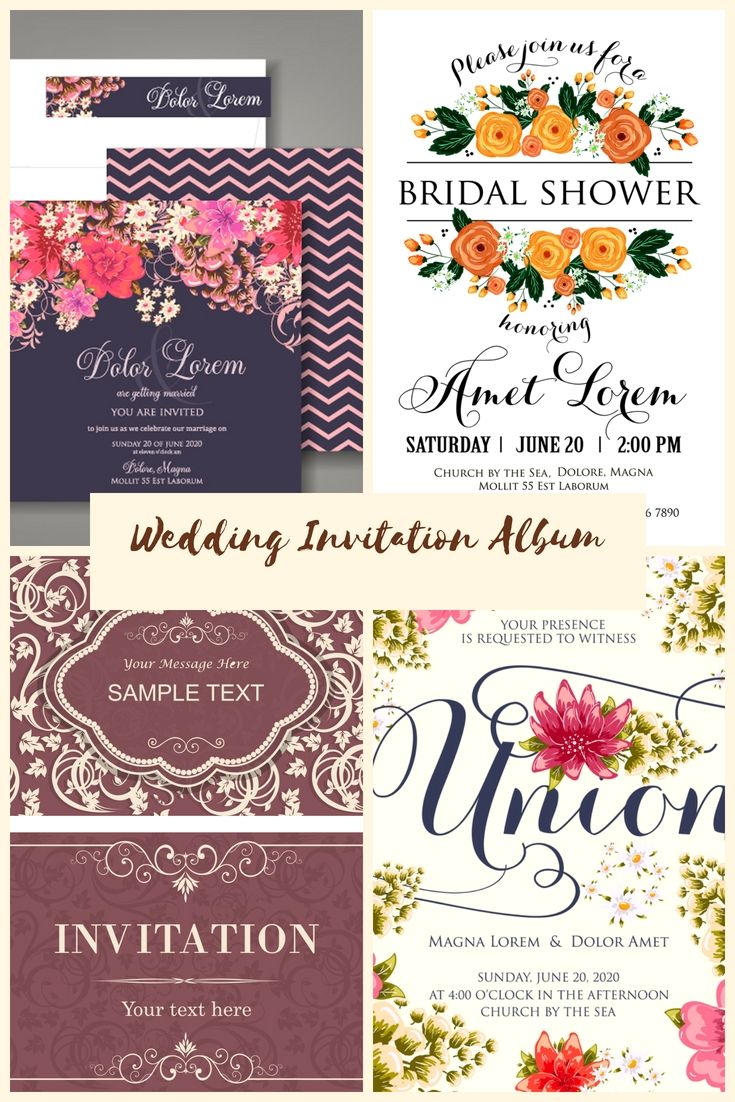 100 Free Wedding Invitation Cards Samples Start Creating Your