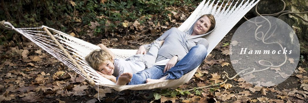 great variety of hammocks, designed by home on earth.