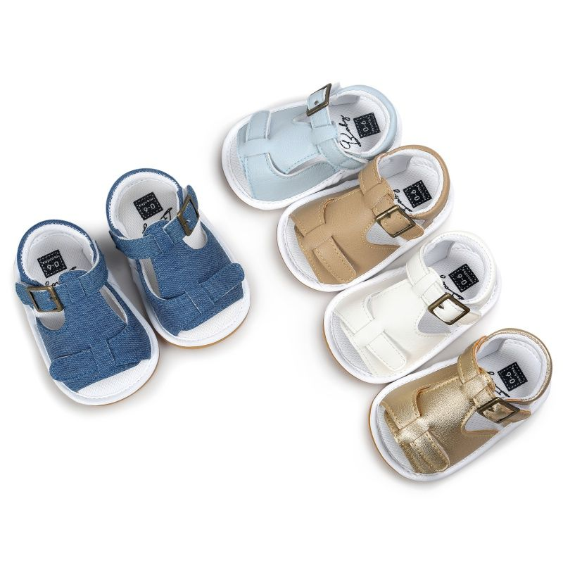 1a51f2428ed20 Nice New Summer Kids Toddler Baby Boys Girls Breathable Sandals Anti Slip  Crib Shoes Beach Shoes