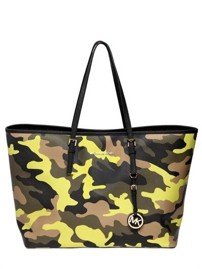 Camouflage Printed Tote Bag
