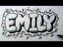 Resultado De Imagen Para Imagenes Del Nombre Emily Como Hacer