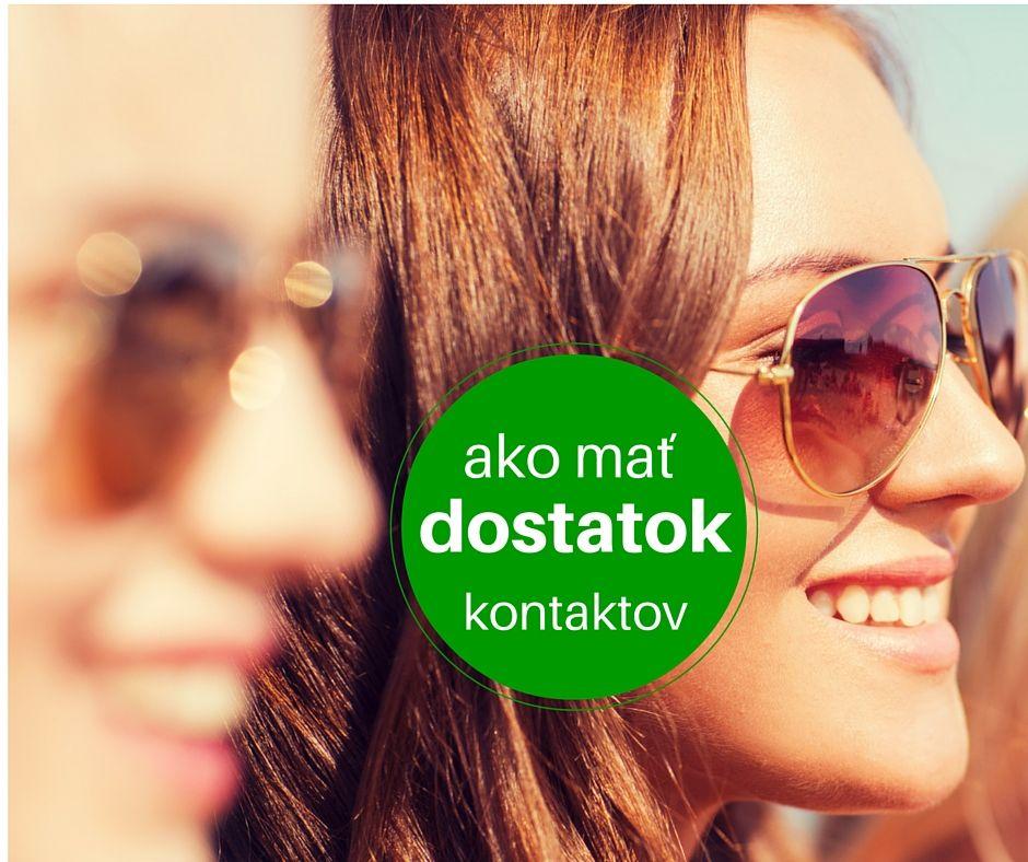 VIDEO RADY: Ako mať vždy dostatok kontaktov? http://www.martinalamosova.sk/dostatok-kontaktov/