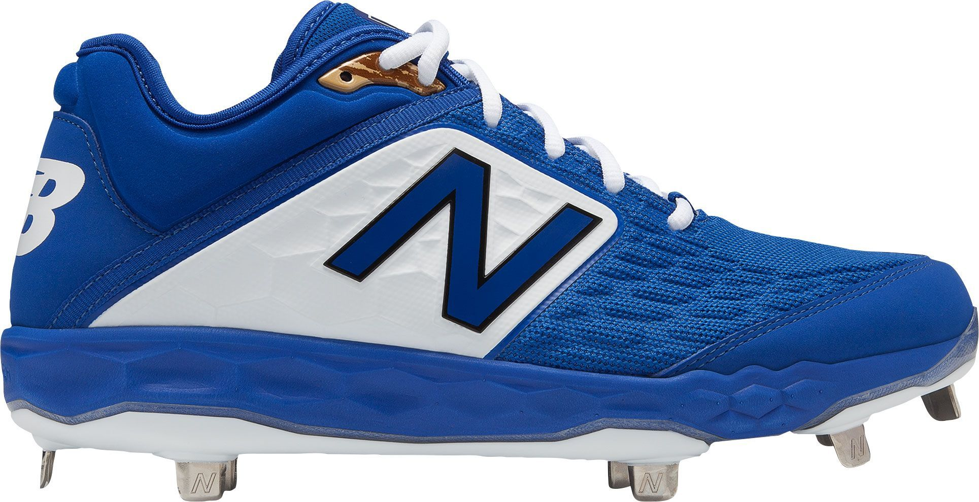 f84656f77417 New Balance Men's 3000 V4 Metal Baseball Cleats, Size: 7.0, Red ...