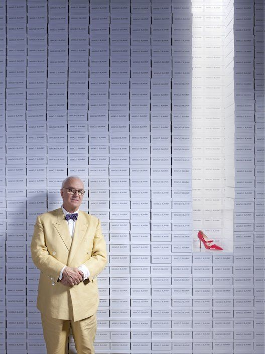 THE A TO Z OF SHOE SHOPPING - maestro manolo blahnik