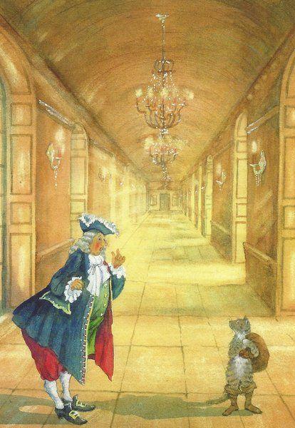 Der Gestiefelte Kater Daniela Drescher Fairy Tales Grimm Fairy Tales Illustration