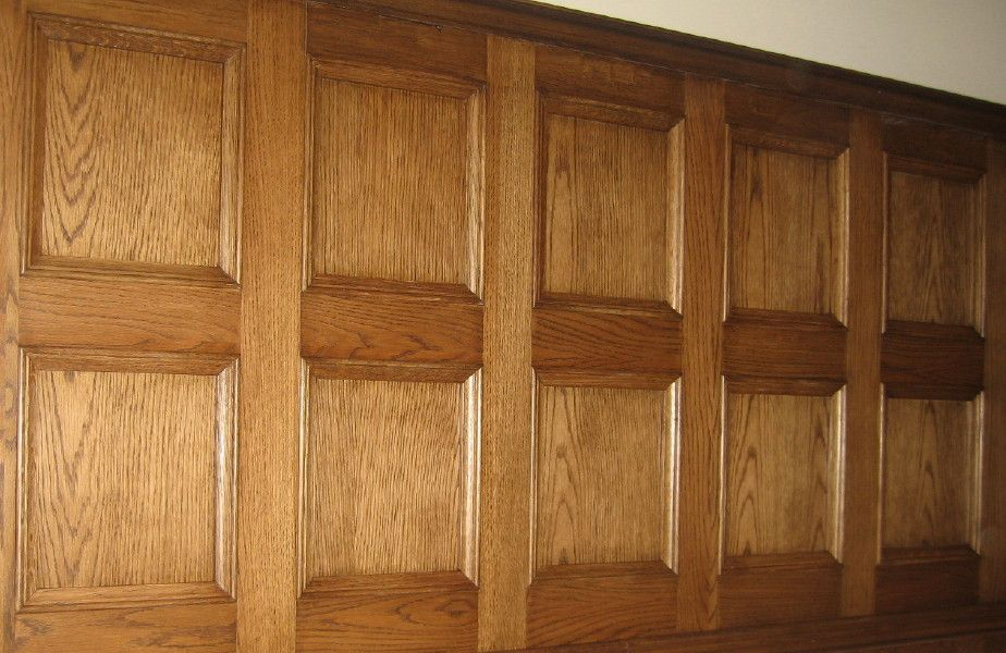 Wall panelling wood wall panels painted home wood panneling plywood pinterest paneling - Painting wood siding exterior decor ...