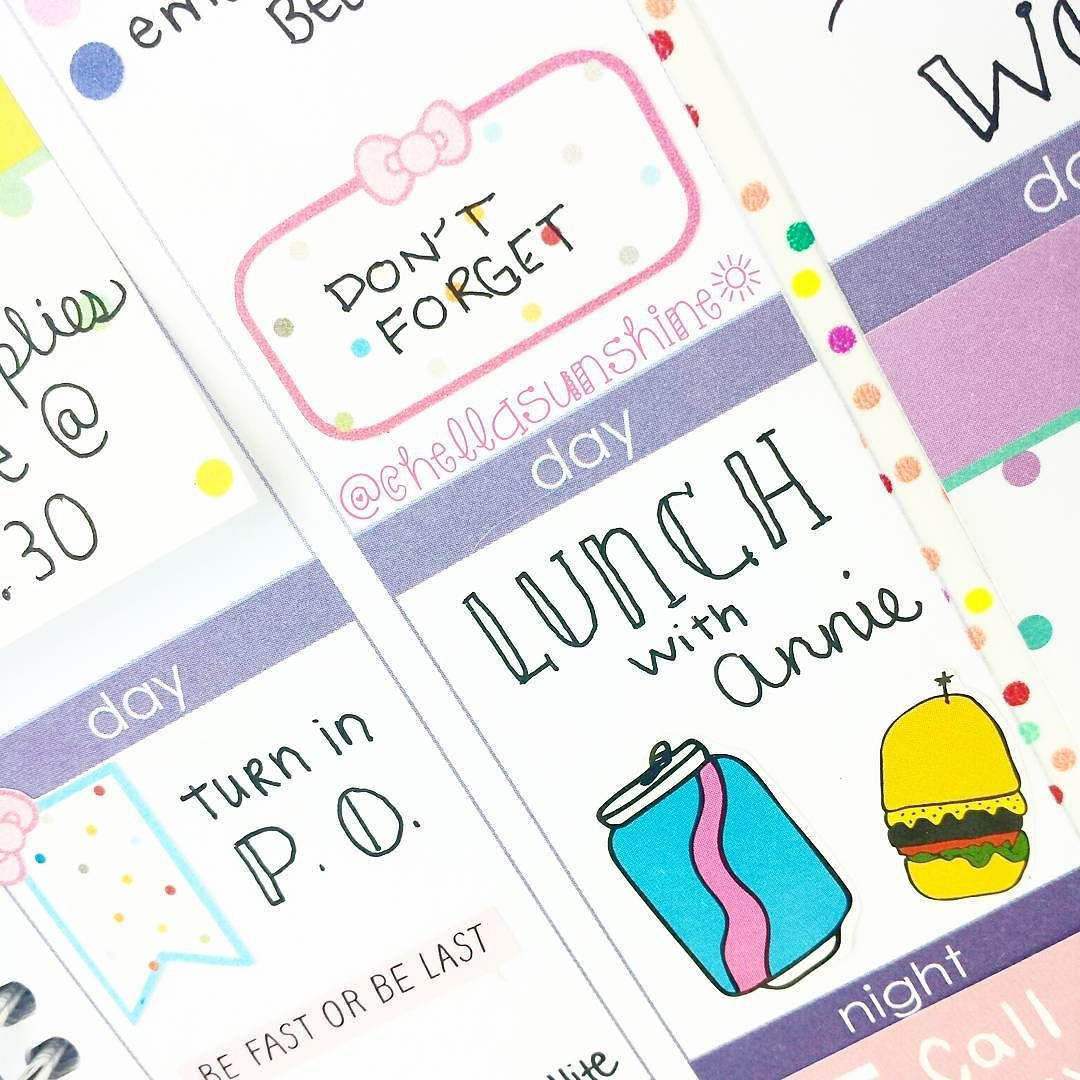 Day 11: Stickers. Ok guys. I'm seriously becoming obsessed with stickers . These cute ones from @plannerlush and @shopbando go perfectly together in this week's theme in my planner!  The polka dot stickers match the Scotch confetti washi beautifully. Ahhhh...its the little things in life that bring me joy.  #plannerdarlingspotd #erincondren #erincondrenlifeplanner #planner #plannerlove #planneraddict #planneraddiction #planning #plannerstickers #stickers #filofax #kikkik #stationaryhoarder…