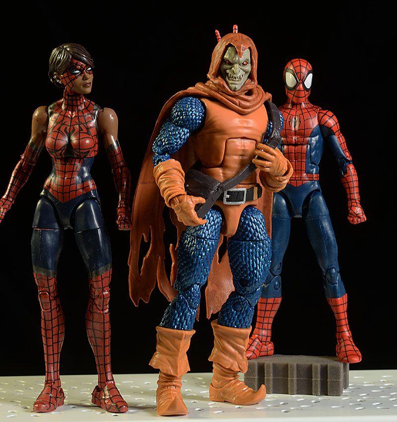 Marvel Legends Hobgoblin, Spider-Girl, Spider-Man action figures by Hasbro