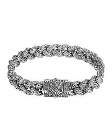 John Hardy Men S Classic Chain Braided Bracelet Mens Braided Bracelets Braided Bracelets Chain Braid