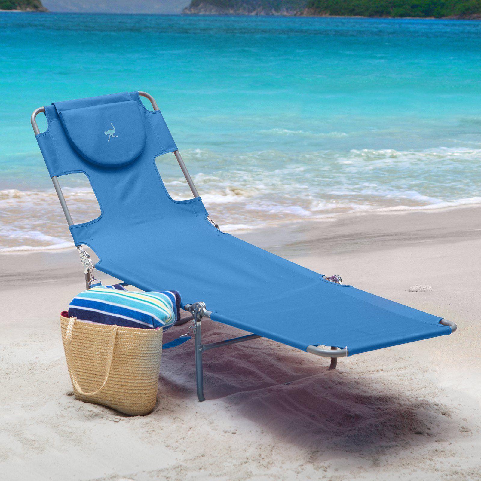 Ostrich Folding Chaise Lounge Walmart Com Folding Lounge Chair Beach Chairs Portable Beach Chairs