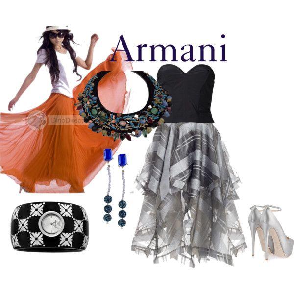 """Armani"" by melange-art on Polyvore"