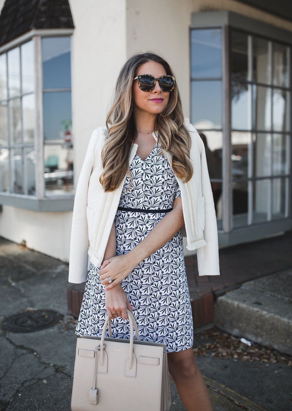 and White Easter Dress Blue and White Easter Dress   The Teacher Diva: a Dallas Fashion Blog featuring Beauty & Lifestyle