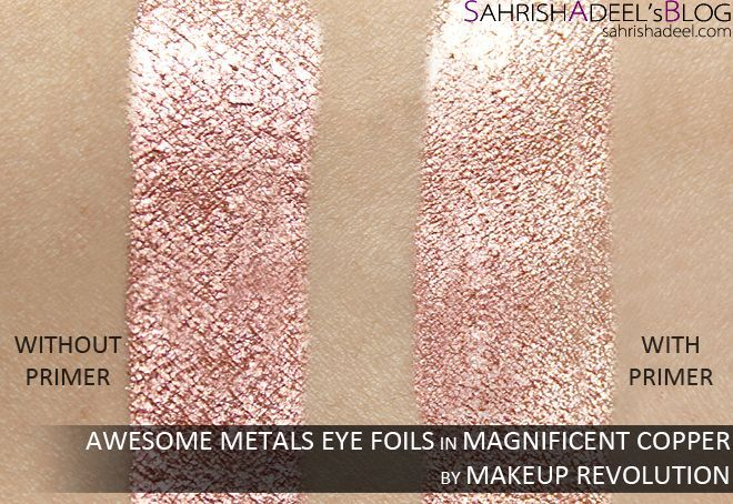 Awesome Metals Eye Foils by Makeup Revolution - Review ...