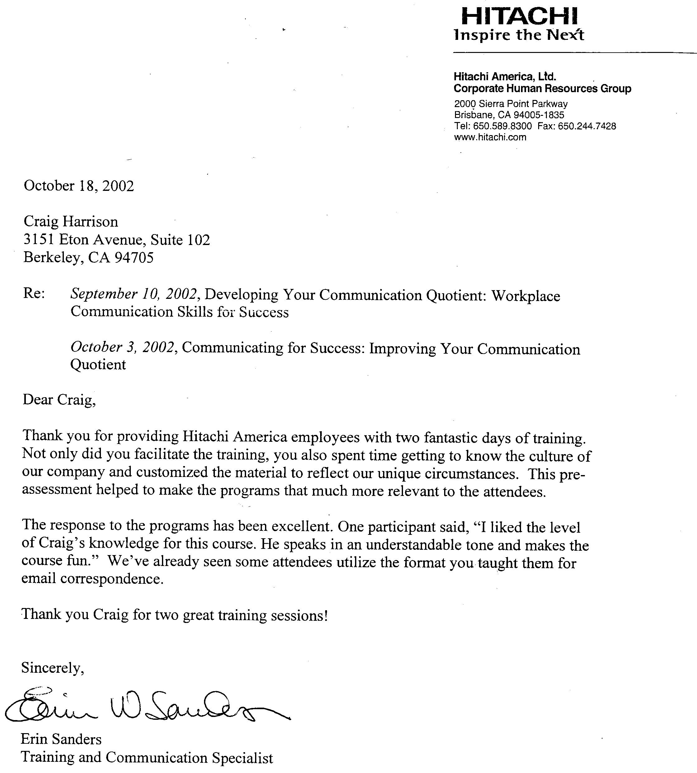 letter of recommendation from employer letter of reference from employer to college business 12830