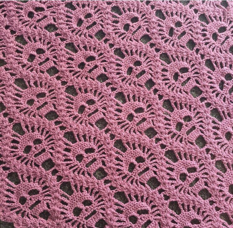 Crochet Lost Souls Skulls Shawl Pattern By Maryetta Roy On Ravelry